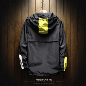 Image 2 - חדש גברים של מעיל עמיד למים אביב ובסתיו ברדס מעיל מעיל רוח מותג XL 5XL סתיו דק מעיל סוודר Portswear
