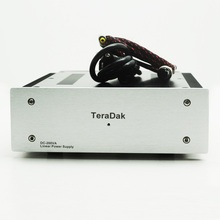 Size(mm):W210 H77 L265 TeraDak DC 200W High performance HiFi Fever Linear Power Single Group 24V/8A