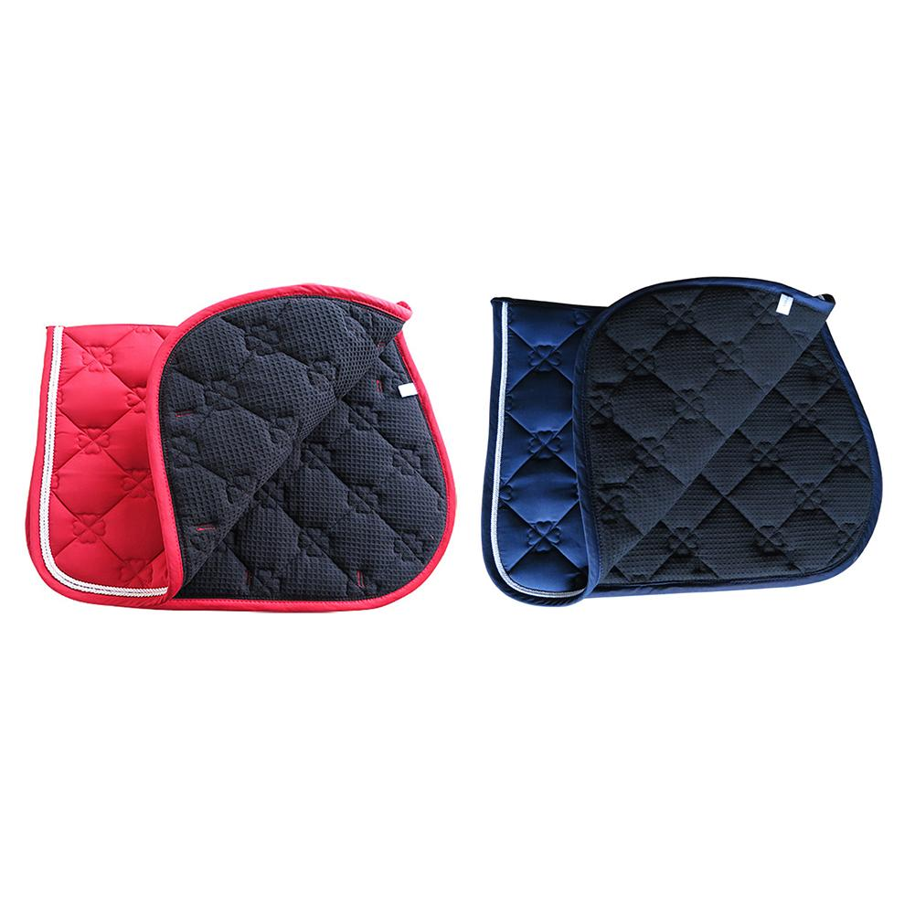 Horse Saddle Pad Breathable Sweat-absorbent Equestrian Bareback Riding Pad Horse Riding Jumping Performance Equipment