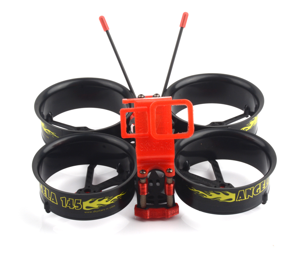 Skystars Angela 145 3 Inches FPV Whoop Frame Kit W/GoPro 7 TPU Mount For RC FPV Racing Drone Multi-Rotor