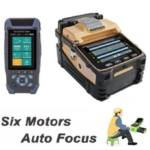 Splicing-Machine Optical-Power-Meter Fiber-Optic Splicer/otdr AI-8C Light-Source VFL