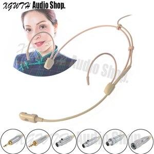 Image 1 - Hypercardioid конденсаторная гарнитура, микрофон для Sennheiser EW 100 300 500 G 1 2 3 4, беспроводная связь, интервью, Речевая запись