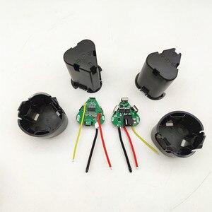 Image 4 - 핸드 드릴 키트 액세서리 전기 스크루 드라이버 3s bms 리튬 이온 12.6V 18650 핸드 전기 드릴 pcb 배터리 보관 케이스 상자