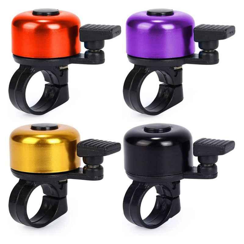 JFmall Timbre cl/ásico para bicicleta ni/ños y ni/ñas mini timbre de aluminio para bicicleta sonido fuerte y n/ítido para adultos