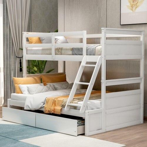 Litera doble sobre cama completa con almacenamiento-blanco 4 pósteres de cama rosa, dosel para cama de princesa Queen, mosquitera, tienda de cama, cortina de cuatro esquinas de largo hasta el suelo de 1,5x2 m # WW