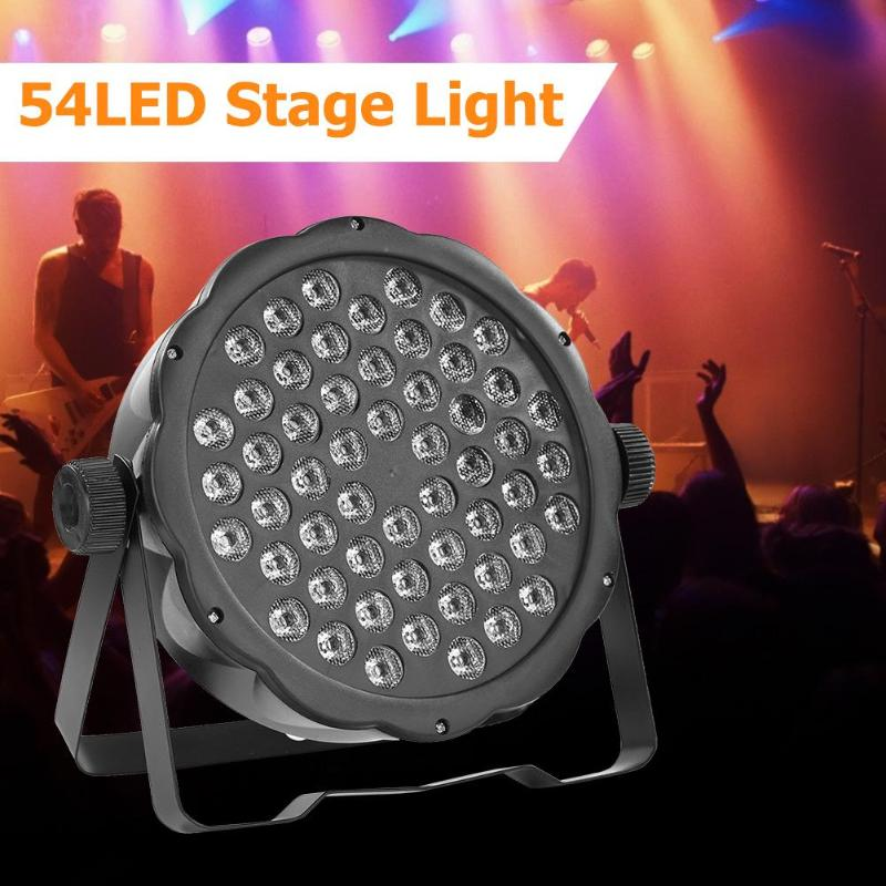 54LED Stage Light DJ Disco Par Lamp KTV Bar Club Show Party Laser Projector