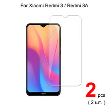 Protector de pantalla de vidrio templado para Xiaomi Redmi 8A / Redmi 8 Premium 2.5D HD, vidrio Protector para Xiaomi Redmi 8 8A