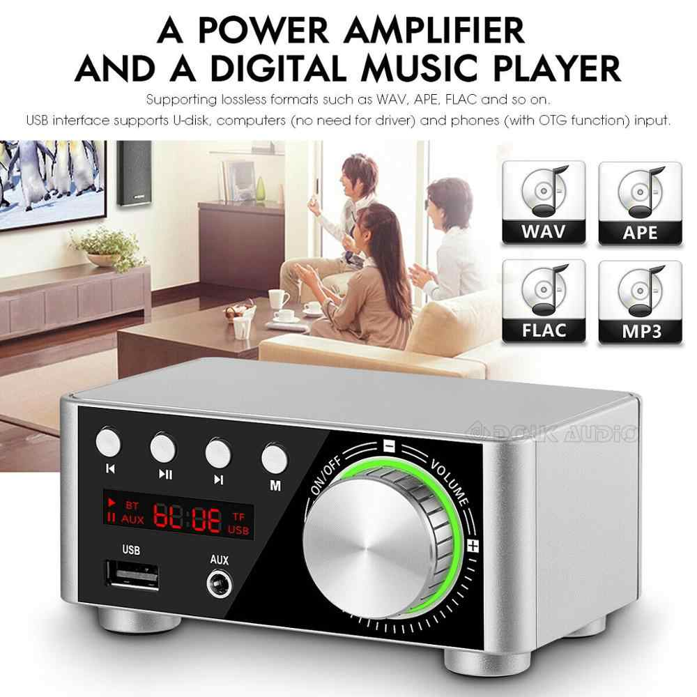 Douk audio Mini TPA3116 مكبر كهربائي بلوتوث 5.0 استقبال ستيريو المنزل سيارة الصوت أمبير USB U-القرص مشغل موسيقى