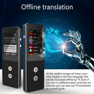 Image 2 - T9 + ออฟไลน์แบบพกพาอัจฉริยะVoice translatorที่พูดได้หลายภาษาInstant translatorธุรกิจInter คำเครื่อง