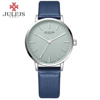 Julius Top Marke Luxus Gold Uhren Frauen Uhr Damen Analog Quarz Armbanduhren Kleid Armband Relogio Feminino JA-922