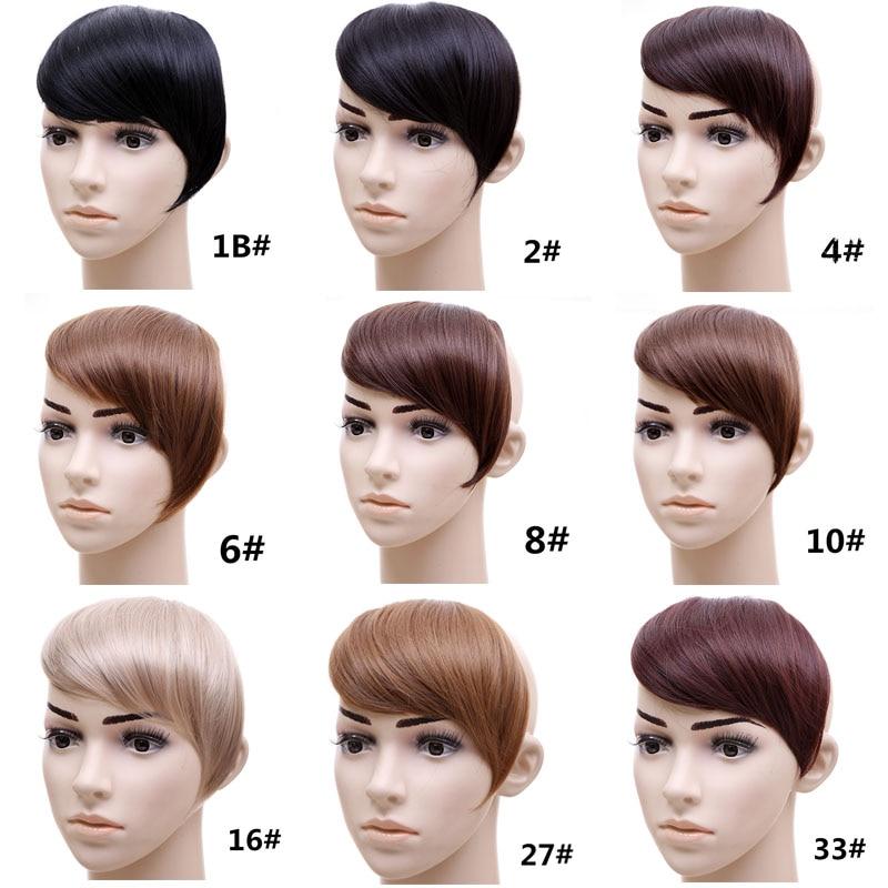 Прямые синтетические волосы для наращивания
