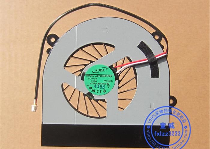 New CPU Cooler Fan For CLEVO W150 W150er W350 W350ETQ W370ET W370ETQ W370SKQ HASEE K590S K660E K650C AB7905HX-DE3 P27G V2 P2742G