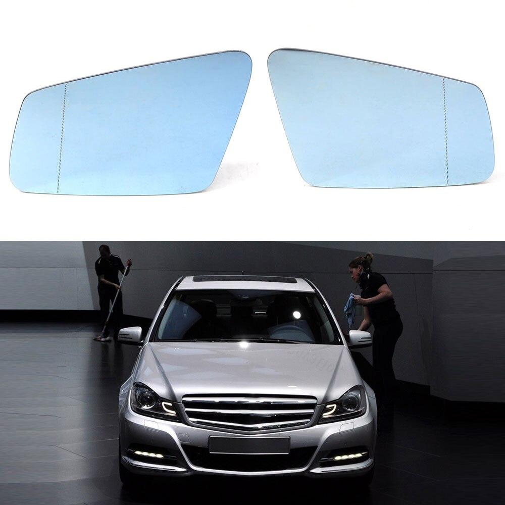 Mirror Glass for Mercedes C300 C350 E350 E550 S550 CL550 CLA250 Passenger Right