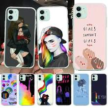 Nbdruicai Gay Lesbian Rainbow Pride Lembut Shell Ponsel Case Capa untuk iPhone 11 Pro XS MAX 8 7 6 6S Plus X 5S SE XR Cover(China)