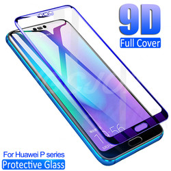 На Алиэкспресс купить стекло для смартфона 9d protective glass for huawei p30 lite p20 pro screen protector on p10 plus p9 lite 2017 p smart 2019 tempered glass film case