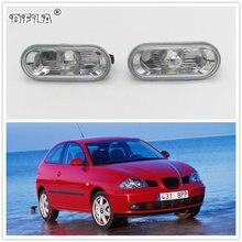 2 шт. для SEAT Ibiza 2002 2003 2004 2005 автомобильный Стайлинг боковой маркер указатель поворота светильник повторитель лампы