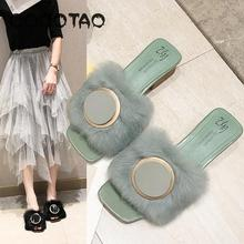 Maomao Sandals Women Wear Outside The New 2019 Joker Han Edition Web Celebrity Is Cool Procrastinate Thick With Fashion Wind 29