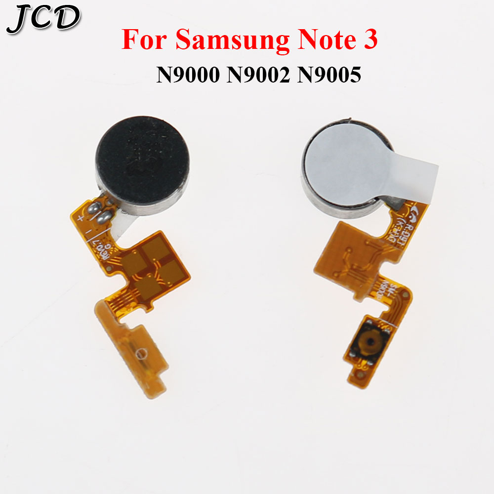 JCD Power On/Off Button Vibrator Flex Cable For Samsung Galaxy Note 3 NOTE3 N9000 N9002 N9005 N900 N900A N900P