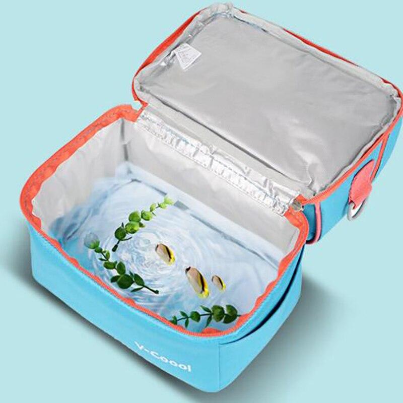 Купить с кэшбэком maternity Insulation bag backpack Breast MilkMummy Bags baby picnic kids Food carrying Storage Fresh Keeping