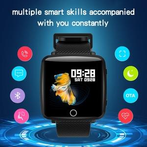Image 2 - Lenovo HW25P Smart band IP68 waterproof 200mAh BT4.0 2.5D Curved surface Smart Watch English reminder Sport Waterproof Smartband