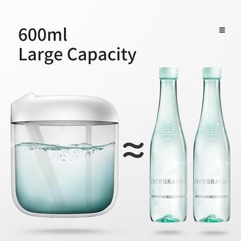 Baseus Humidifier Air Diffuser Difusor For Home Office 600 Ml Large Capacity Air Humidifier Humidificador With LED Lamp