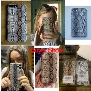 Image 5 - Ретро Змеиный чехол для iPhone 7 8 X/XS Max XR 6 6S чехлы для iPhone 5/6/6S/7/8 Plus чехол Serpiente Fundas жесткий чехол для телефона из ПК
