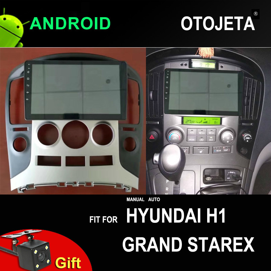 9INCH Car Android 9.0 Grand Starex Multimedia Player For Hyundai H1 GPS Radio Device Bluetooth Steering Wheel Control Navigation