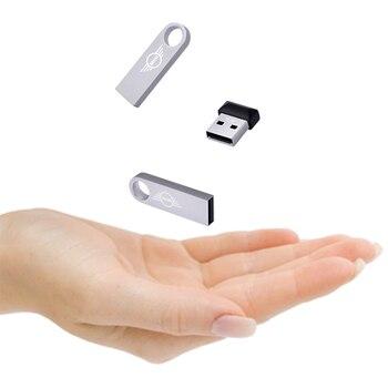 Super Mini metal usb flash drive 32GB Real capacity memory Storage stick Pen-drive High speed high sound quality Lossless