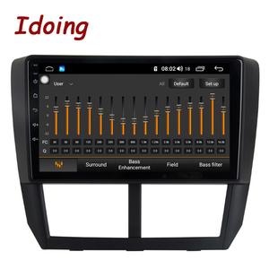"""Image 5 - Idoing 1Din 9""""Car Radio GPS Multimedia Player Android Auto For Subaru Forester 2008 2012 4G+64G Octa Core Navigation Head Unit"""