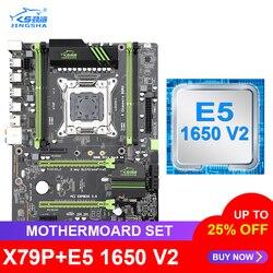 Płyta główna JINGSHA X79 z Xeon E5 1650 V2 LGA 2011 obsługa pamięci DDR3 ECC REG X79P ATX USB3.0 SATA3 PCI-E NVME M.2 SSD