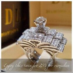 925 anillos gümüş yeni moda kadınlar zarif zirkon yüzük takı gümüş renk nişan yüzükler kadınlar için boyutu 5 6 7 8 9 10 11