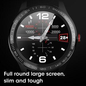 Image 4 - Reloj inteligente deportivo L8 L9 IP68 para hombre, resistente al agua, ECG presión arterial mediante PPG, control del ritmo cardíaco, para Android IOS