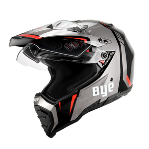 Image 3 - BYE Moto rcycle kask Moto çapraz kask kasko moto Moto rbike yarış Moto kask Biker tam yüz kask ECE DOT sertifikası
