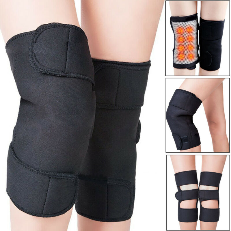 Brand New Unisex Self Heating Knee Pad Magnetic Thermal Therapy Arthritis Support Brace Protector Winter Warm Knee Sleeve