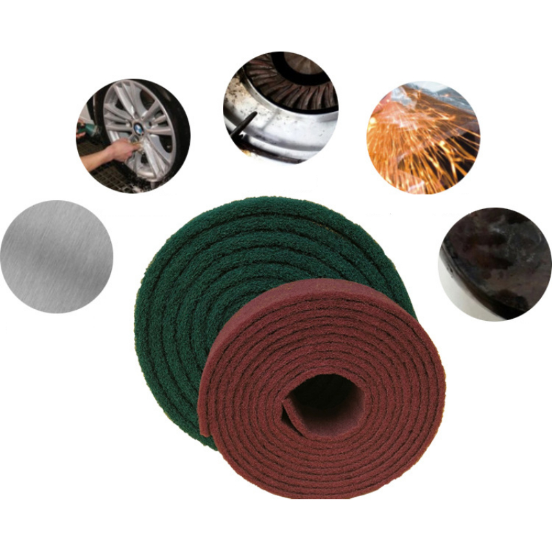Nylon Hundred Cleaning Cloth Metal Rust Polishing Polishing Woodworking Polishing Sandpaper Grinding Tools Metalworking #180-400