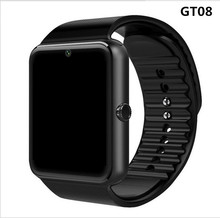 Smart Watch GT08 Clock Sync Notifier Support Sim TF Card Bluetooth Connectivity Android Phone Smartwatch Alloy Smartwatch 2017 hot gt08 bluetooth smart watch sync notifier clock connectivity android phone smartwatch support sim tf card pk dz09 q18