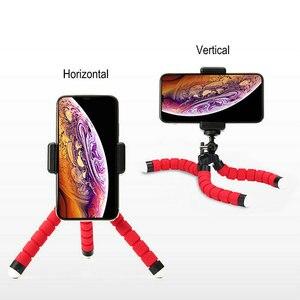 Image 5 - Flexible Mini Stativ Flexible Telefon Stativ Mit E typ Telefon Clip 1/4 schraube loch Kamera mini stativ Für Smartphone & kamera