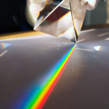 Crystal Pyramid Rainbow-Prism Optical-Glass Science-Studying Rectangular Height Popularization