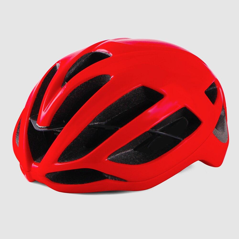 Велосипедный шлем Aero ультралегкий красный Дорожный велосипедный шлем дорожный MTB Горный XC Trail capacete матовый велосипедный шлем cascos ciclismo