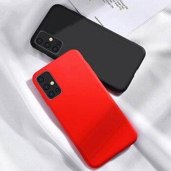 Per la cassa del silicone Xiaomi Mi 10 Case Cover Shell Lite Fundas Capa liquido per Xiaomi Mi 10 Pro 9T redmi Nota 9s 9 8 7 8T Pro 8A 7A