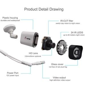 Image 3 - Keeper 1MP AHD Analog High Definition Surveillance Infrared Camera 720P AHD CCTV Camera Security Outdoor Bullet Cameras