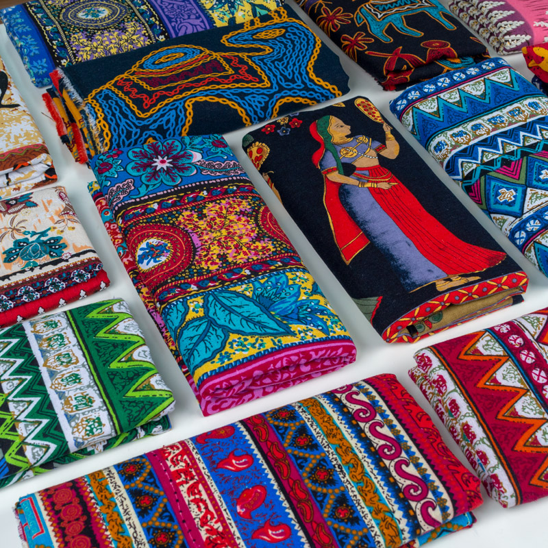 Tablecloth African-Fabric For Bags Dress 150--50cm Textile Linen Sewing Handmade Patchwork