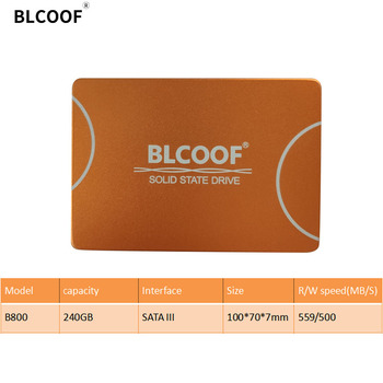 BLCOOF HDD SATAIII 2.5 Inch SSD 240GB internal solid state disco duro SSD 559/500MB/S hard drives disk For Computer laptop PC kingspec ssd 60gb 90gb 240gb 180gb 360gb hard drive disk hdd 2 5 inch sata2 sata3 internal solid state disco ssd disk for laptop