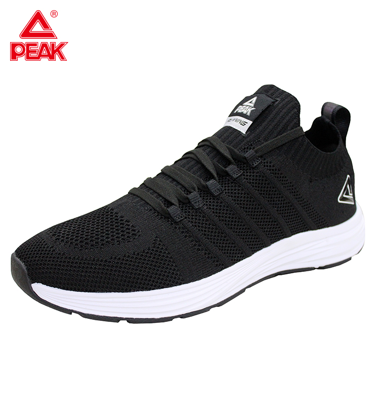 PEAK Light Running Shoes Comfortable Casual Men's Sneaker Breathable Non-slip Wear-resistant Outdoor Walking Sports Shoes Unisex