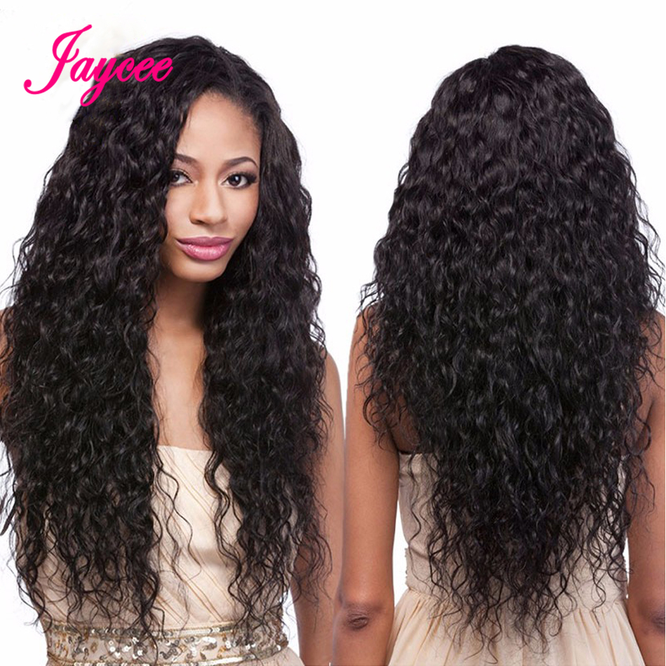 Water Wave Wig For Black Women Lace Front Human Hair Wigs 360 Lace Frontal Wig Perruque Cheveux Humain Bresiliens Solde