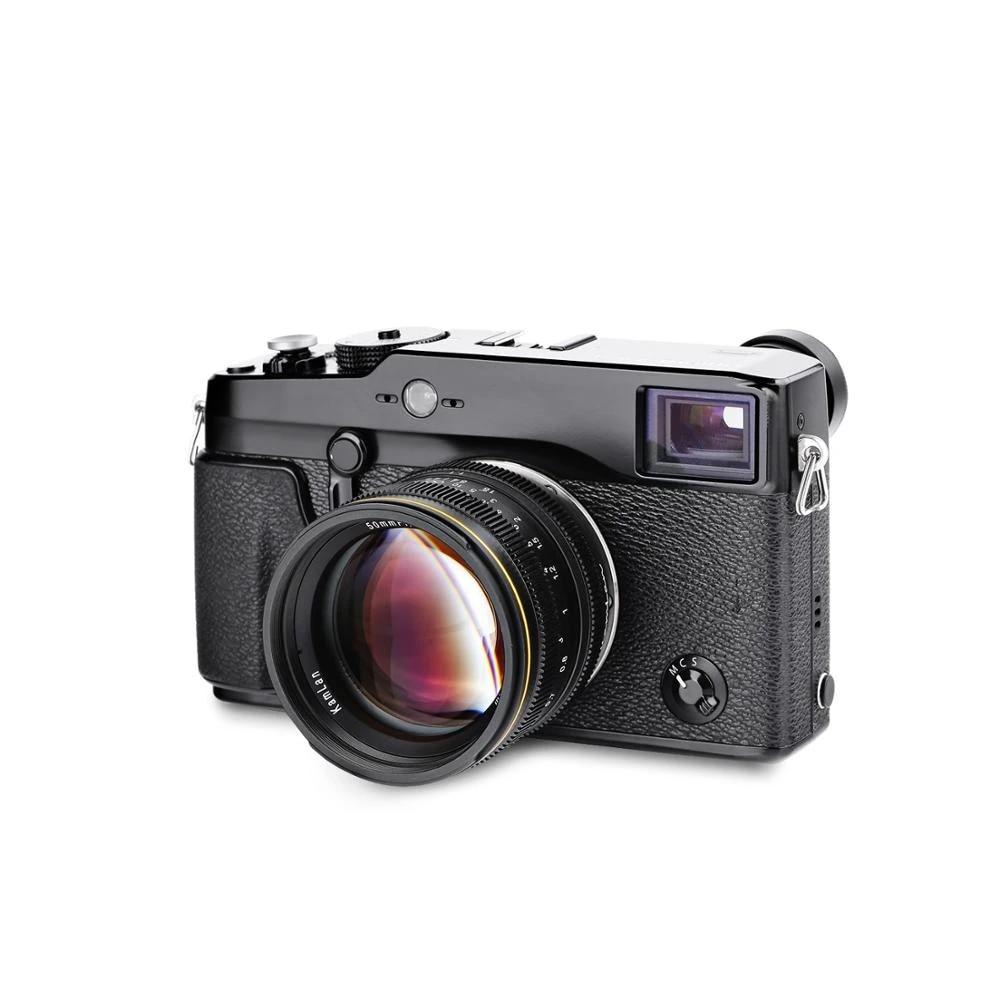 50mm F1.1 Manual Focus Lens Large Aperture for Mirrorless Cameras M4//3
