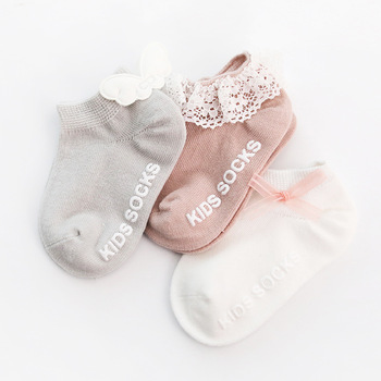 3Pairs/lot Baby socks 2019 spring non-slip toddler newborn cute decoration baby stuff for newborns baby socks with rubber soles