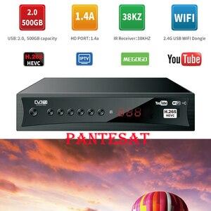 Спутниковый ТВ-приемник Pantesat HD-168 Европейская Португалия Испания HD dvb t2 Поддержка IPTV Cccam приемник youtube спутниковая ТВ-приставка