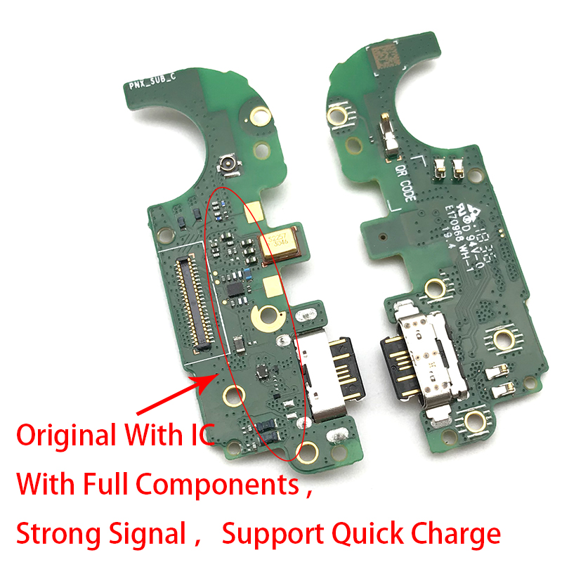 For Nokia 8.1 X7 Dock Connector Micro USB Charger Charging Port Flex Cable Microphone Board
