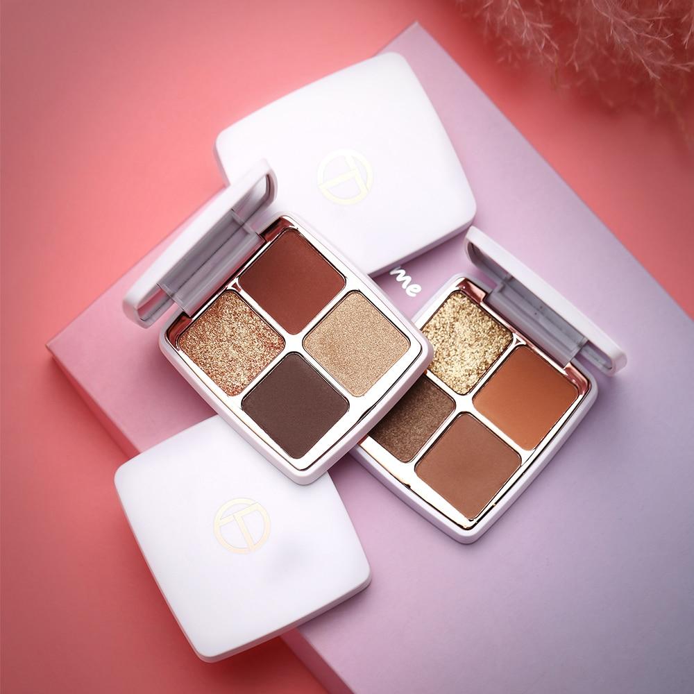 O.TWO.O 4/6/16/18/21 цвета макияж тени для век Палитра длительный пигментированный тени для век Палитра косметический набор